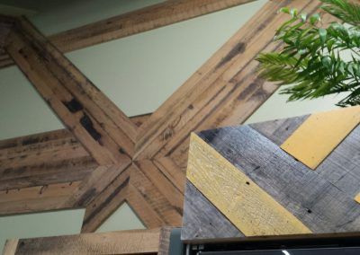 Commercial Reclaimed Barnwood Job - Reclaimed Woods