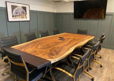 Custom Furniture with Wood Slab